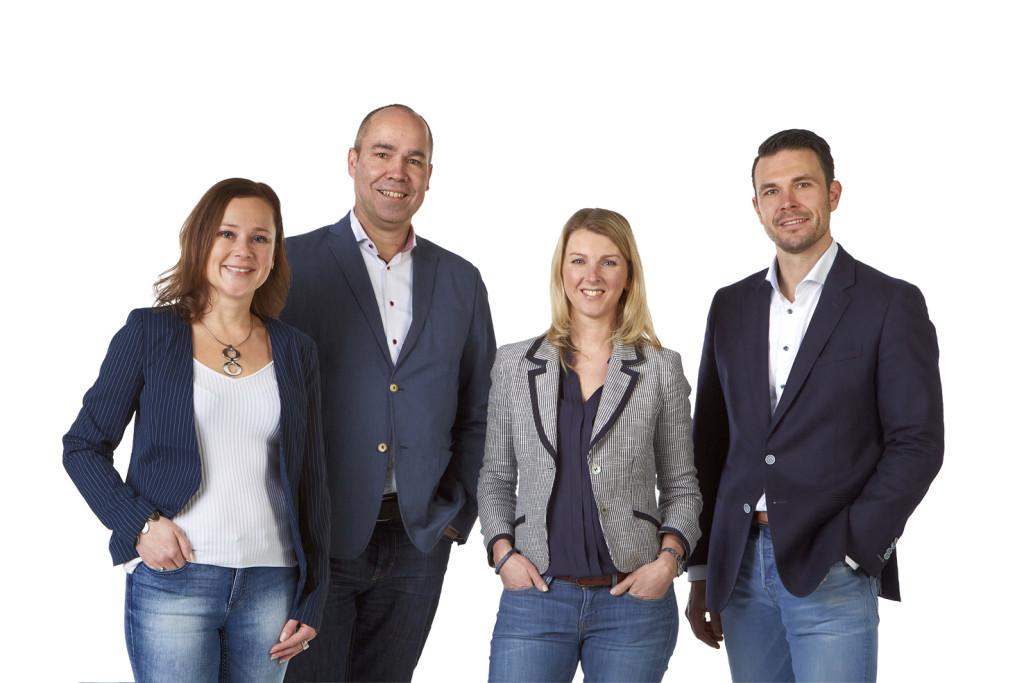 Het team van MooiHuys Makelaars Hoorn en Alkmaar